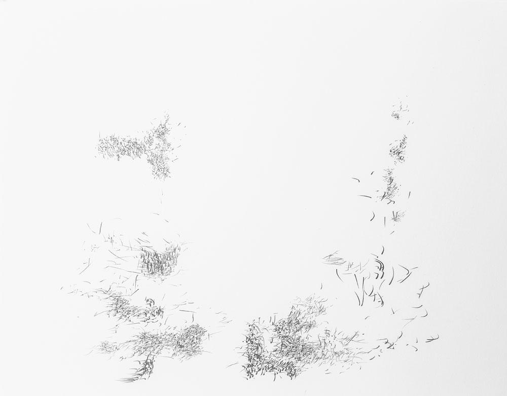 <i>Sin título</i>, lápiz y pastel óleo sobre papel, 21, 7 x 29, 5 cm, 2017