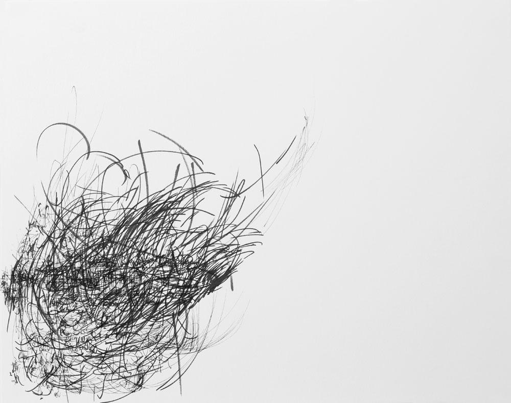<i>Sin título</i>, fibra sobre papel, 27,9 x 35,6 cm, 2018