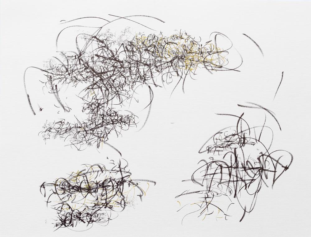 <i>Beat</i>, fibra sobre papel, 50 x 70 cm, 2019